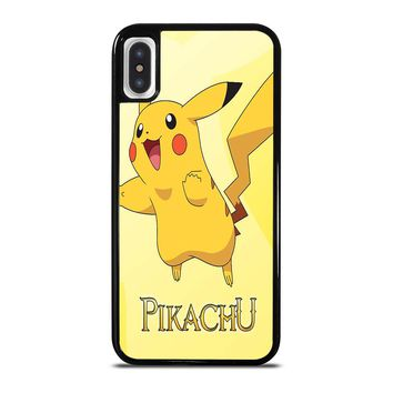 FUNNY CUTE PIKACHU POKEMON iPhone X / XS case