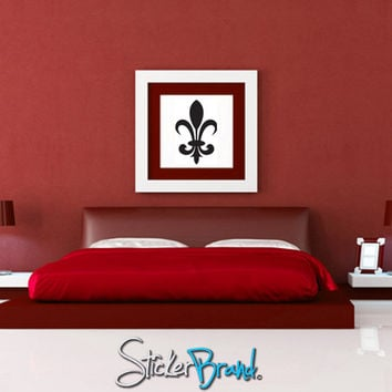 Vinyl Wall Decal Sticker French Fleur De Lys #KTudor107