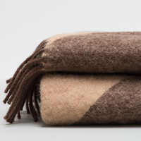 Brown Forestry Blanket - Mina Design | CLEARANCE