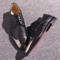 Cl Christian Louboutin Loafer Style #2386 Sneakers Fashion Shoes - Sale