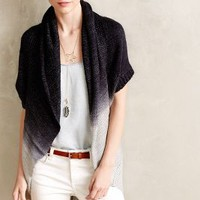 Ombre Cocoon Cardigan by Anthropologie Navy