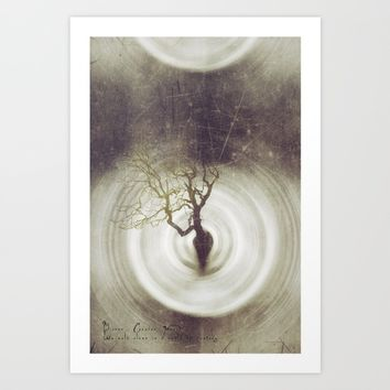 BETWEEN ME BETWEEN Art Print by TreeomStudio