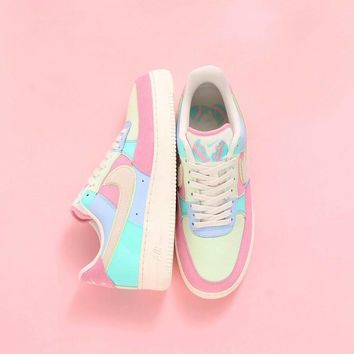 "Nike Air Force 1 Low Sneaker ""Easter egg""AH8462-400"