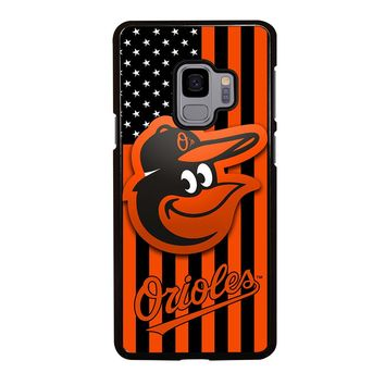 BALTIMORE ORIOLES FLAG Samsung Galaxy S4 S5 S6 S7 S8 S9 Edge Plus Note 3 4 5 8 Case Cover
