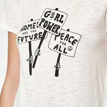Michelle by Comune Girl Power T-Shirt at PacSun.com