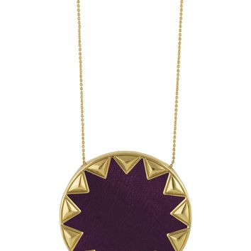House of Harlow 1960 Jewelry Sunburst Pyramid Pendant Necklace