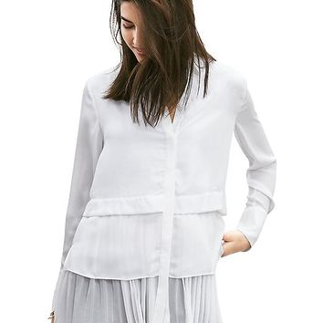 Banana Republic Womens Multi Layer Shirt