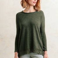 Among The Willows Crochet Accent Top