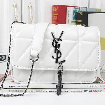 YSL Yves Saint laurent Women Fashion Leather Crossbody Shoulder Bag Satchel