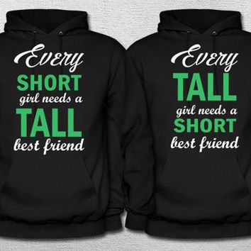 BFF Tall and Short Hoodies