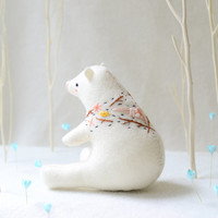 nature bear soft sculpture