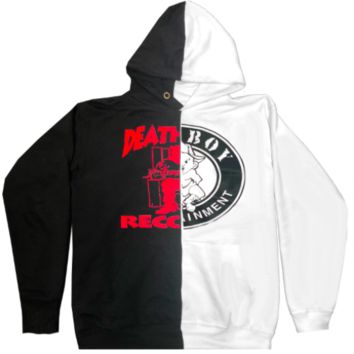 """Bad Boy Meets Death Row"" Split Hoodies"