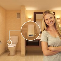 The World's Best Toilet Odor Removal System – The Odorless
