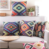 Bohemian Cushion Custom Throw pillows Geometric Pillows High Quality Home Car Office Decoration Gift