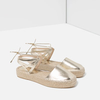 LACE - UP ESPADRILLES-View all-SHOES-WOMAN | ZARA United Kingdom