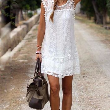 The Lace Parker Dress