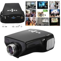 ELEGIANT HDMI Multimedia LED Projector Home Office Cinema Theater TV AV VGA HDMI Video