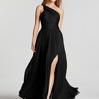"Halston Heritage ""Jerry"" One-Shoulder Gown - Contemporary - Bloomingdales.com"