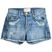 Denim short pants / Current Elliott | STUNNING LURE online store