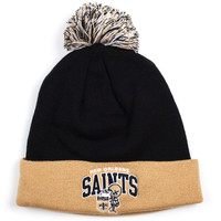 Caps - Mitchell and Ness NFL Throwback Knit - Saints - DTLR - Down Town Locker Room. Your Fashion, Your Lifestyle! Shop Sneakers, Boots, Basketball shoes and more from Nike, Jordan, Timberland and New Balance