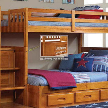 Stoney Creek Twin over Full Stairway Bunk Bed