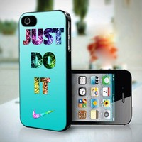 10259 Nike Just Do It Photo Tiffany - iPhone 4/4s Case