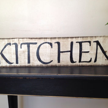 Lovely Handmade kitchen sign made from pallets