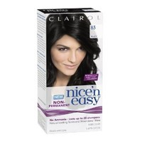 Clairol Nice 'N Easy Non-Permanent Hair Color 83 Black 1 Kit