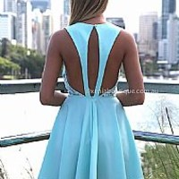BLUE LOTUS DRESS , DRESSES, TOPS, BOTTOMS, JACKETS & JUMPERS, ACCESSORIES, 50% OFF SALE, PRE ORDER, NEW ARRIVALS, PLAYSUIT, COLOUR, GIFT VOUCHER,,Blue,LACE,CUT OUT,BACKLESS,SLEEVELESS Australia, Queensland, Brisbane
