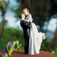 Romance Couple Wedding Cake Toppers