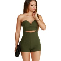 Olive Snap, Crackle And Pop It Romper