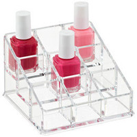 The Container Store Acrylic Nail Polish Organizer