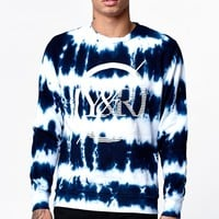 Young & Reckless Barren Crew Neck Sweatshirt - Mens Hoodie - Tie Dye