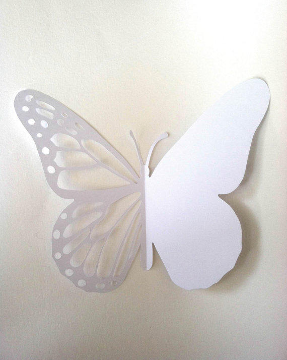 Butterfly d i y card printable paper cut from souzawebb for Butterfly paper cut out template