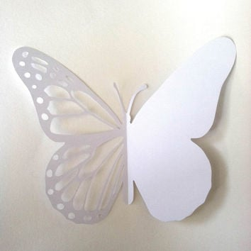 Butterfly D.I.Y. Card Printable Paper Cut Out Template/Tutorial All Occasion Card OR 3D Butterfly Wall Art