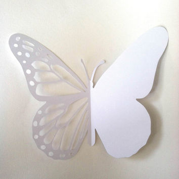 Butterfly Diy Card Printable Paper Cut From Souzawebb On Etsy