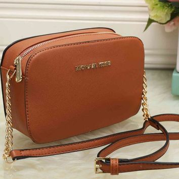 MK Women Shopping Bag Leather Satchel Crossbody Handbag Shoulder Bag [54719217676]