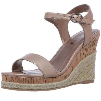 Summer Espadrilles Wedges Sandals Women Platform Sandals Woman Open Toe High Heel Shoes