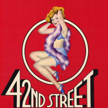 42nd Street 11x17 Broadway Show Poster (1981)