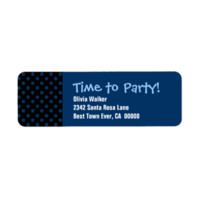 Time To Party Any Celebration Personalized Address Labels