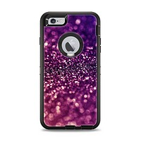 The Unfocused Purple & Pink Glimmer Apple iPhone 6 Plus Otterbox Defender Case Skin Set