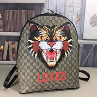 GUCCI M419584 Men tiger Backpack 2019 New