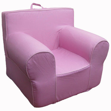 Hot Pink Chair Cover for Foam Childrens Chair