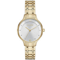 Skagen Anita Steel Gold-Tone Link Bracelet Watch - Gold