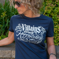 Once Upon a Time (OUAT) Villains Don't Get Happy Endings Women's T-Shirt