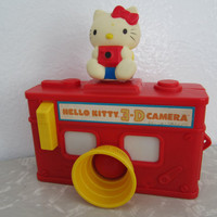 Hello Kitty 3D camera 1984 Sanrio Child Guidance by katehartxoxo