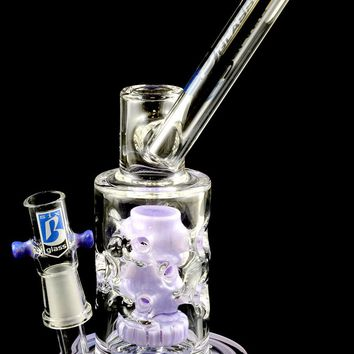 Small Stemless GoG Water Pipe with Showerhead to Faberge Egg Perc - WP1244