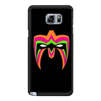 Wwe Ultimate Warrior Mask  Samsung Galaxy Note 5 Case