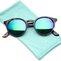 Classic Small Round Retro Sunglasses