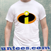 Incredibles Logo Superhero Clothing Tshirt Unisex/Mens